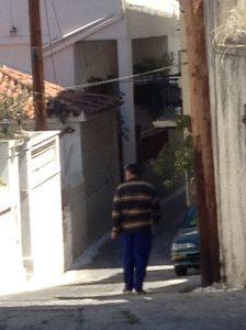 man in street